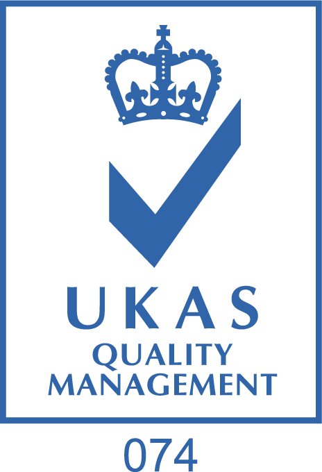 UKAS Quality Management Certification Logo